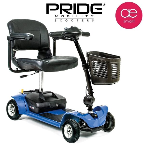 Electric mobility scooter PRIDE GO GO Ultra X for people with special needs, 4 wheels, 12Ah